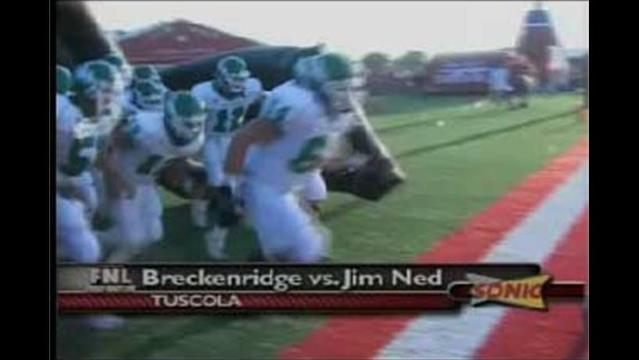 Breckenridge Looks Strong in 35-13 Win Over Jim Ned