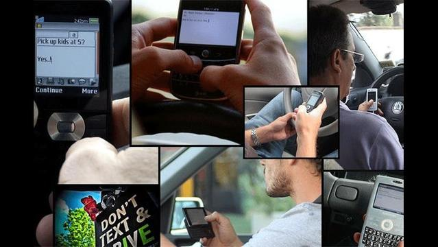 Study: Texting While Driving Unsafe by Any Means