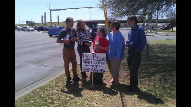 Locals Protest Sparked by Comments Made by Starbucks CEO