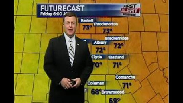 KRBC Eastern Big Country PM Forecast:  Thursday, July 11, 2013
