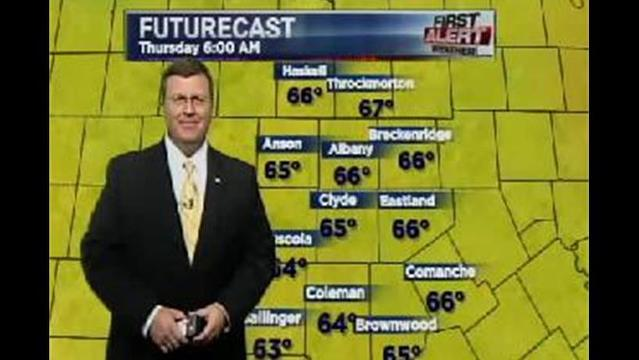 KRBC Western Big Country PM Forecast:  Wednesday, July 17, 2013