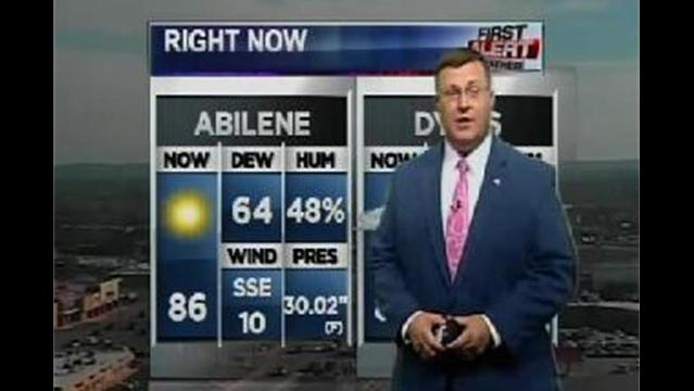 KRBC PM Forecast:  Thursday, July 18, 2013