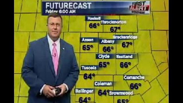 KRBC Western Big Country PM Forecast:  Thursday, July 18, 2013