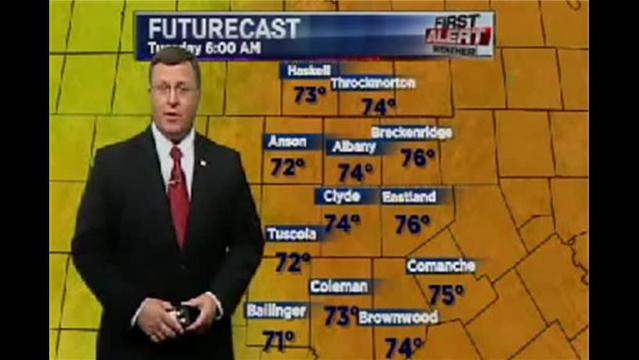 KRBC East Regional PM Forecast:  Monday, July 22, 2013