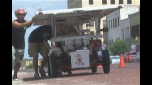 Solar Powered Race Cars Make a Pit Stop in Breckenridge, Inspire Younger Spectators