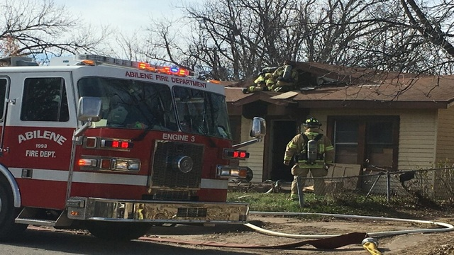 Vacant Home Catches Fire in South Abilene