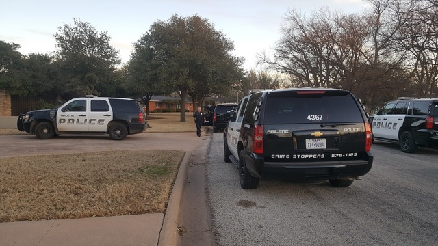 Niblo Murder: Several Abilene Police Vehicles At Victim's Home