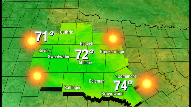 Cooler Temperatures On The Way To Oklahoma