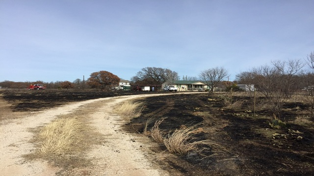 Three Homes Saved from Callahan County Wildfire