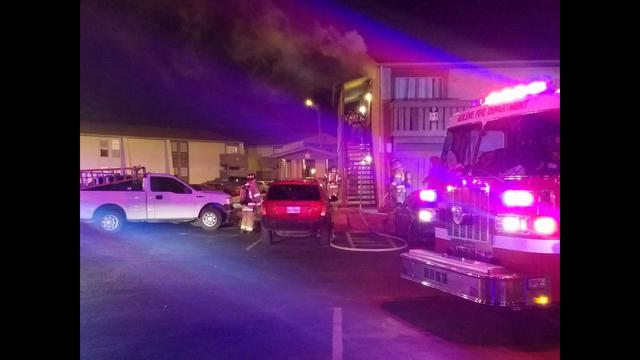 Fire Breaks Out at Apartment Complex in S. Abilene