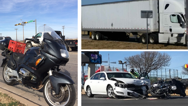 Three Motorcycle Wrecks in Taylor County on Wednesday