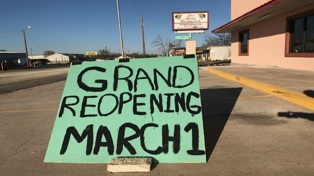 Los Arcos Announces Grand Re-opening Date