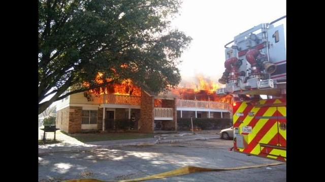 Fire Rips Through Brownwood Apartment Complex