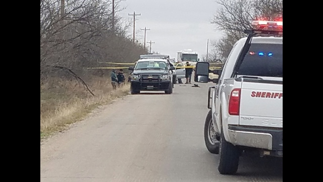 Major Crime Scene Under Investigation North of Abilene