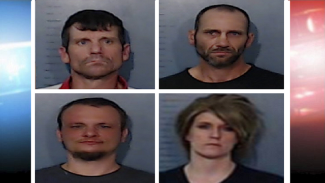 Abilene Police Arrest Four on Fraud and/or Drug Charges