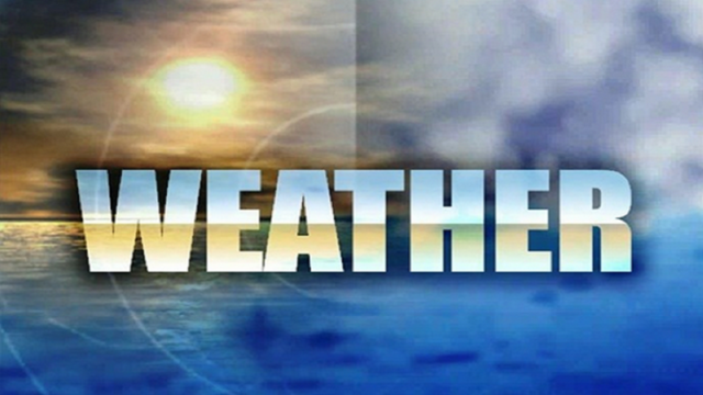 Saturday Weather Outlook:  March 18, 2017