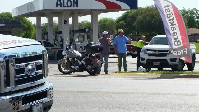 Motorcyclist Avoids Serious Injury in South Abilene Accident