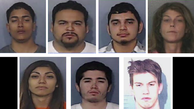 Five Suspected Child Abusers, Two Others Wanted in Abilene