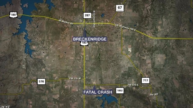 Breckenridge Woman Killed in Stephens County Rollover