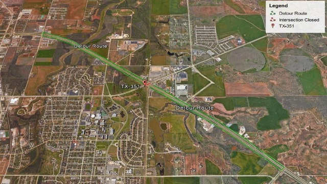 Hwy 351 & I-20 Intersection to Close, Causing Detours and Delays This Weekend