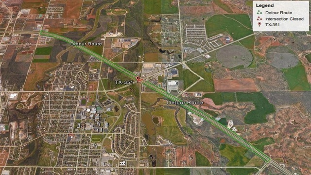 Hwy 351 & I-20 Intersection Closed Until Sunday