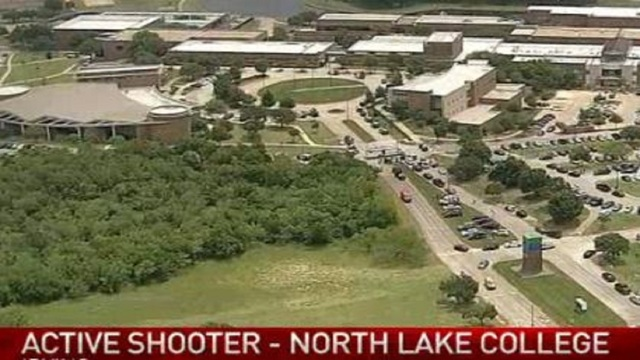 North Texas College on Lockdown Due to Active Shooter Situation