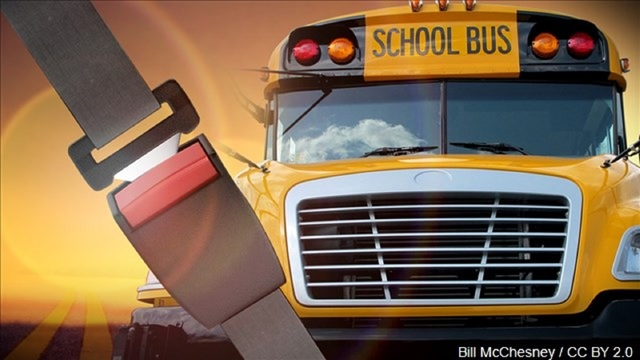 House backs proposal requiring seat belts on school buses