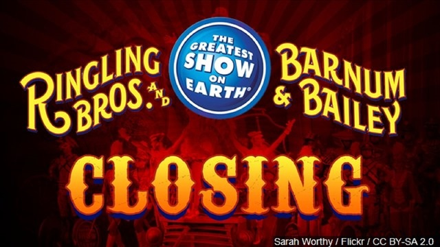 Curtains fall on Ringling Bros.' 'Greatest Show on Earth'