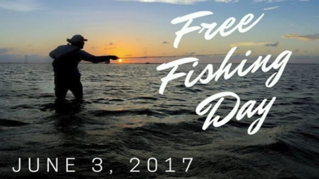 Fish Without a License Anywhere in Texas Saturday