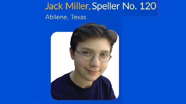 Abilene 7th Grader Competing in National Spelling Bee