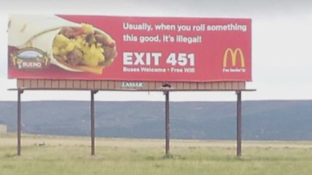 New Mexico Billboard Getting Lots of Laughs and Shares Online