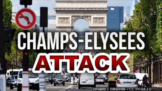 Paris Police Targeted In Suspected Terror Attack on the Champs-Elysees