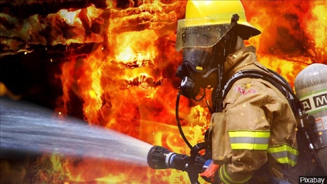 Blaze Burns Down 12 Mile Bridge Near Ballinger