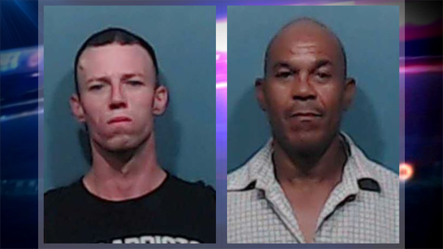 Men Accused of Burglarizing 15+ Taylor County Vehicles Arrested