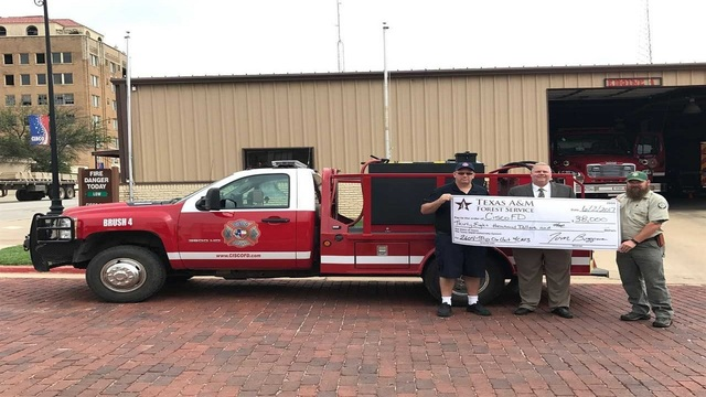 Cisco Fire Department receives grant to purchase new equipment to better serve their community