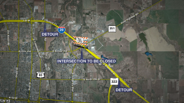 Second round of traffic switches, lane closures scheduled for SH 351