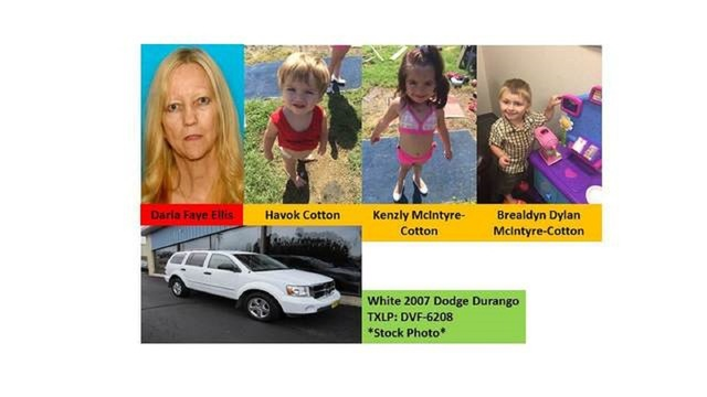 Amber Alert discontinued for missing Paris, Texas children