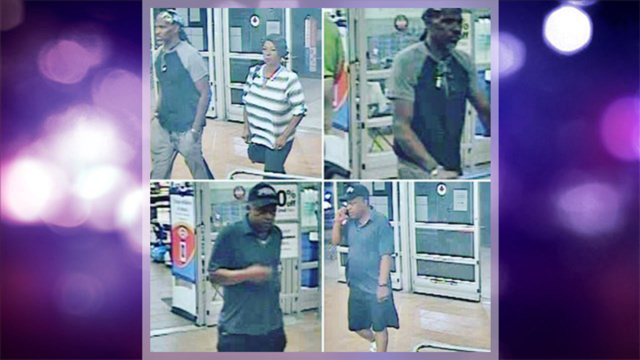 Abilene police need help identifying three suspects caught on camera