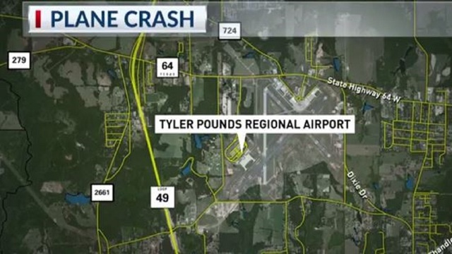 Two Men Rescued in Plane Crash
