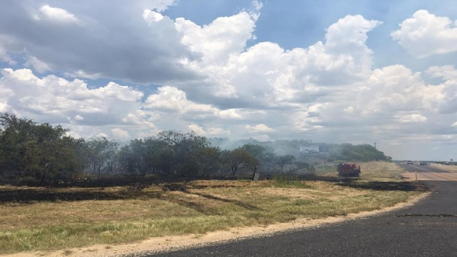 Fire near Baird is now 100 percent contained