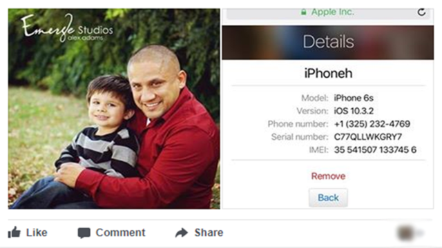 Abilene boy searching for dead father's iPhone