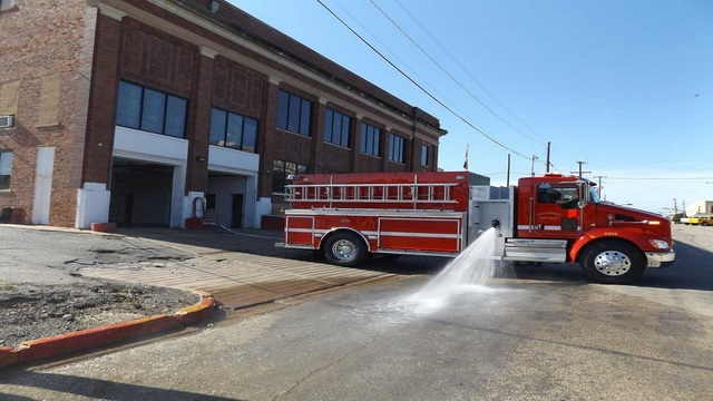 Breckenridge Fire Department accepts $200,000 grant, purchases new water tender