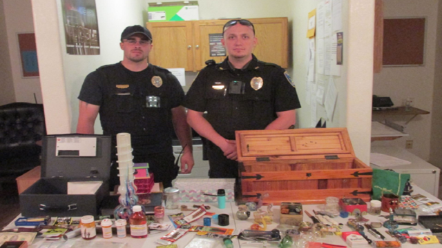 3 arrested, child removed from home during Coleman drug bust