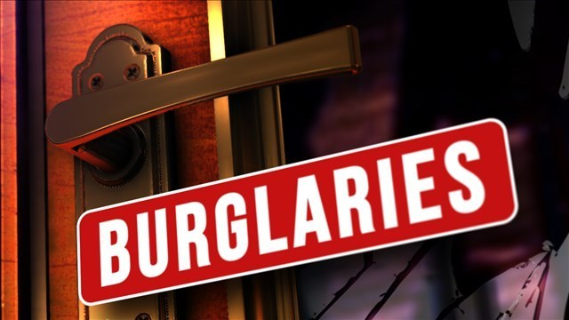 At least 12 burglaries reported in Abilene since Friday