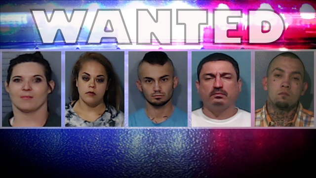 Abilene police searching for five wanted fugitives