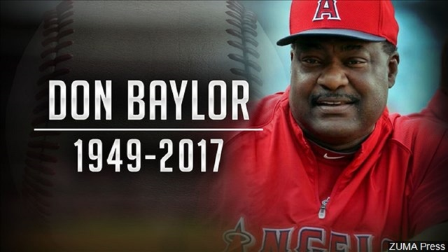 Don Baylor, Texas native, MVP, manager of the year, dead at 68