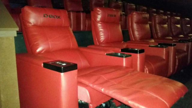 GALLERY: Sneek peak at new XD Cinemark theater in north Abilene