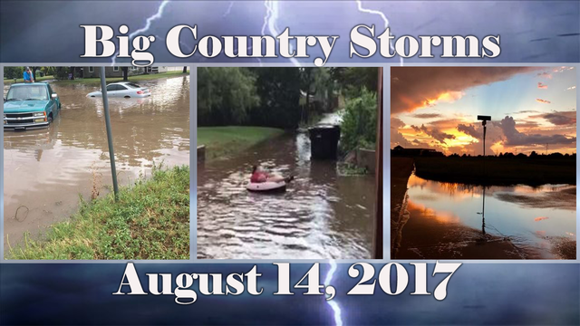 GALLERY: Big Country Storms - August 14, 2017