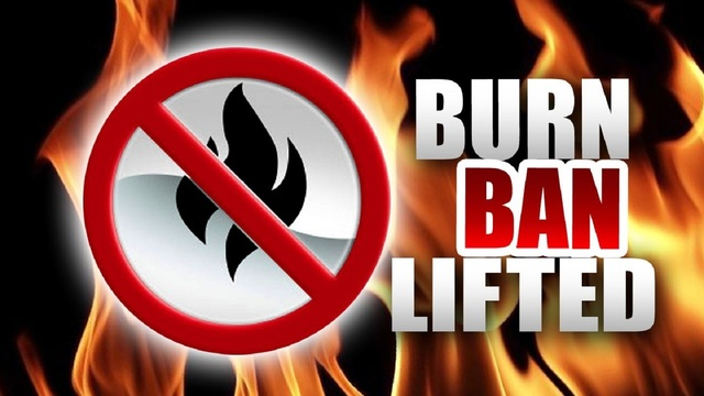 County-wide burn ban lifted for Taylor County