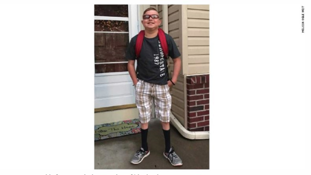 Boy with heart transplant dies on 1st day of school